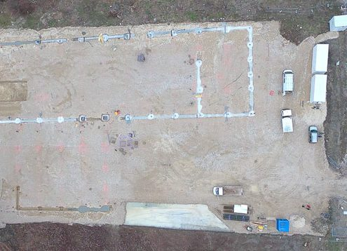 photo drone avancement chantier 1