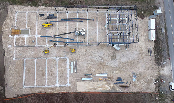 photo drone avancement chantier 3