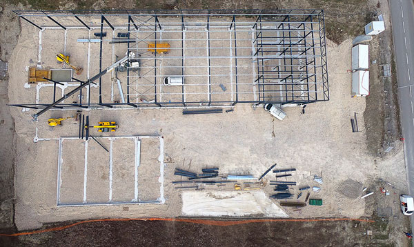 photo drone avancement chantier 4