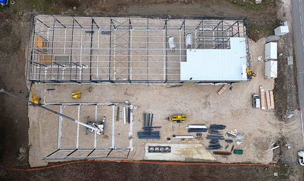 photo drone avancement chantier 5