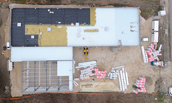 photo drone avancement chantier 7