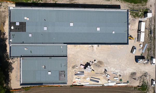 photo drone avancement chantier 10
