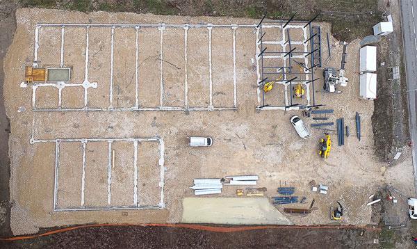 photo drone avancement chantier 2