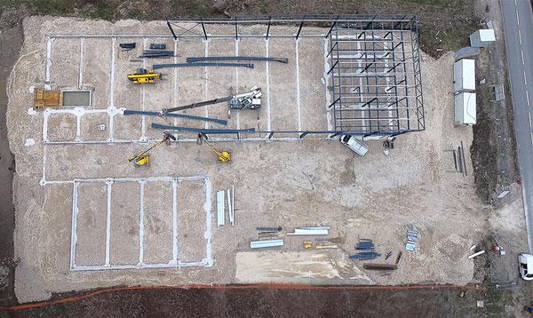 photo drone avancement chantier 3