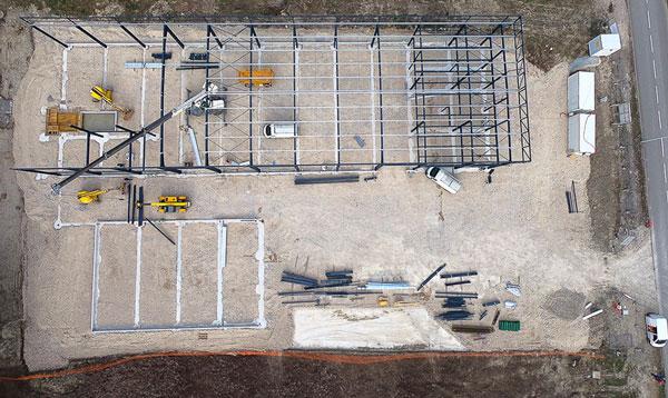 photo drone avancement chantier 4