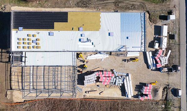 photo drone avancement chantier 6