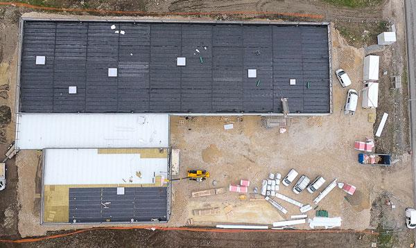 photo drone avancement chantier 8